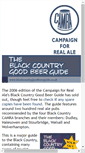 Mobile Preview of blackcountrygoodbeerguide.co.uk